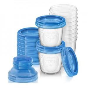 Pungi/recipiente/sticle stocare lapte/hrana