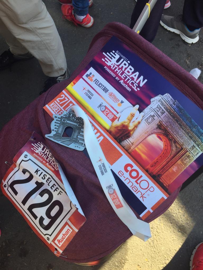 Kit de competitie maraton cu familia